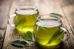 beber té verde