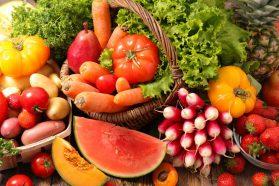 Coma más frutas y verduras