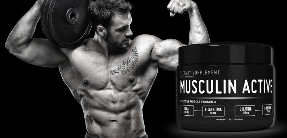 Musculin Active - precio, composición, opiniones (foro), dónde comprar