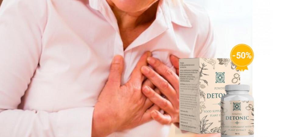 Detonic1 - Detonic – na cholesterol – gdzie kupić – cena – Polska – instrukcja – opinie – recenzja