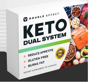 Keto Dual System - pastillas para aumentar el metabolismo