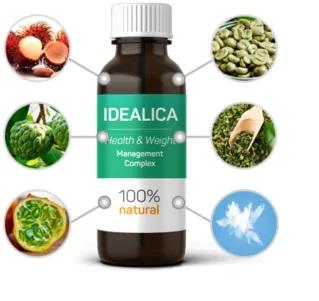 Composición del suplemento dietético Idealica