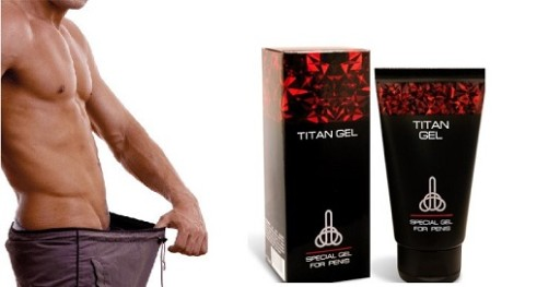Ingredientes naturales de Titan Gel