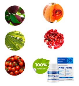 ¿Qué ingredientes contiene Prostaline?