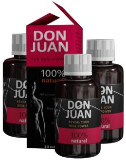 Don Juan gotas - opiniones, composición, precio, ¿dónde comprar?