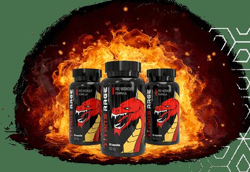 Titan's Rage - ¿Qué ingredientes contienen las cápsulas?