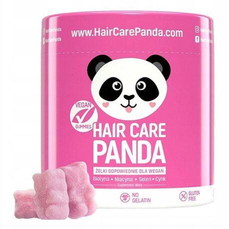 Hair Care Panda - un suplemento dietético para el cabello en forma de geles