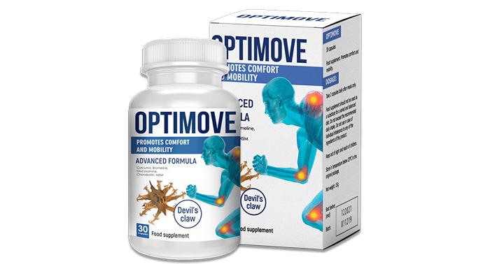 Optimove - cápsulas para el alivio de la inflamación y el dolor articular