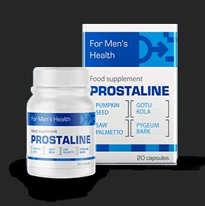 Prostaline - cápsulas para tratar la hipertrofia de próstata