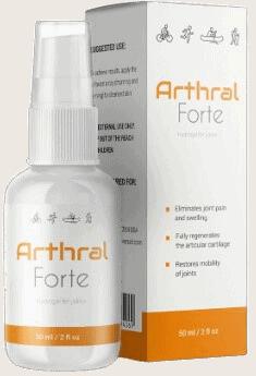 Arthral Forte - un spray que trata el dolor articular