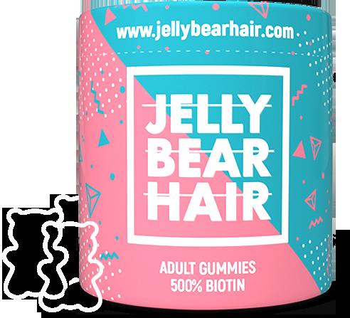 Jelly Bear Hair - geles para un cabello más fuerte y grueso